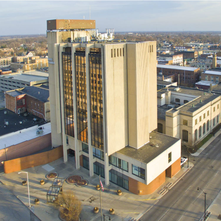 Commercial Leasing at First Merchants Bank Building